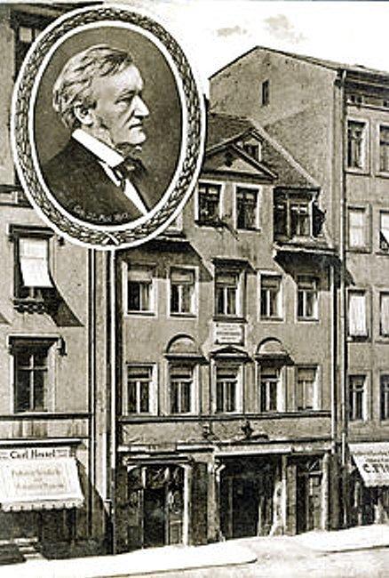 ライプツィヒのワーグナーの生家。.jpg